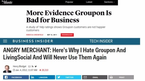 Groupon backlash