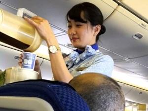 ANA flight attendent