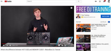 DJ youtube videos